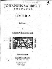 Johannis Sauberti theologi umbra