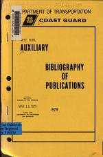 Auxiliary Bibliography of Publications