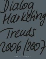 Dialogmarketing Trends 2006 2007 PDF