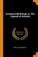 Zoological Mythology  Or  the Legends of Animals PDF