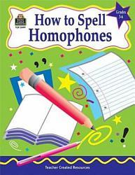 How To Spell Homophones Book PDF