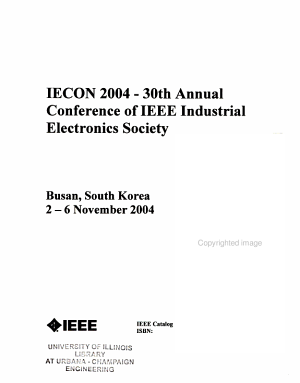 Proceedings of the     Annual Conference of the IEEE Industrial Electronics Society