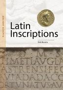 Latin Inscriptions: Ancient Scripts