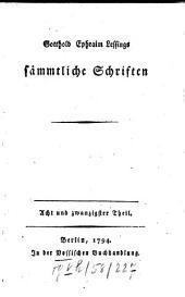 Sämmtliche Schriften: Band 28