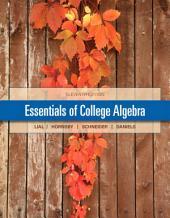 Essentials of College Algebra: Edition 11