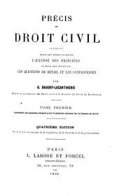 Precus de droit civil