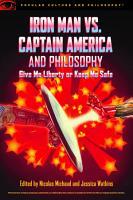 Iron Man vs  Captain America and Philosophy PDF