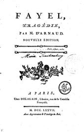 FAYEL, TRAGÉDIE PAR M. D'ARNAUD