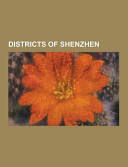 Districts of Shenzhen