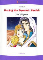 DARING THE DYNAMIC SHEIKH: Harlequin Comics