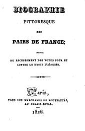 Biographie pittoresque des pairs de France