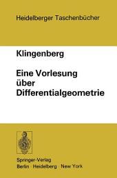 Eine Vorlesung über Differentialgeometrie