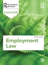 Employment Lawcards 2012-2013: Edition 8