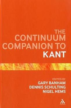 The Continuum Companion to Kant PDF