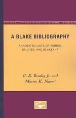 A Blake Bibliography