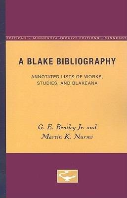 A Blake Bibliography PDF