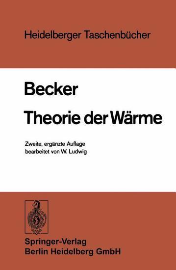 Theorie der W  rme PDF