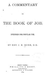 A Commentary on the Book of Job PDF