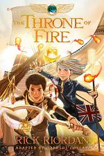 The Kane Chronicles, Book Two: The Throne of Fire: The Graphic Novel