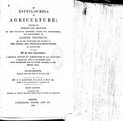 An Encyclopaedia of Agriculture PDF