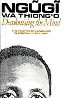 Decolonising the mind PDF