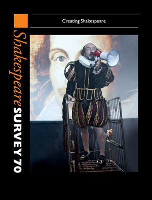 Shakespeare Survey 70  Volume 70 PDF