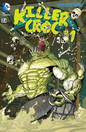 Batman & Robin feat Killer Croc (2013-) #23.4