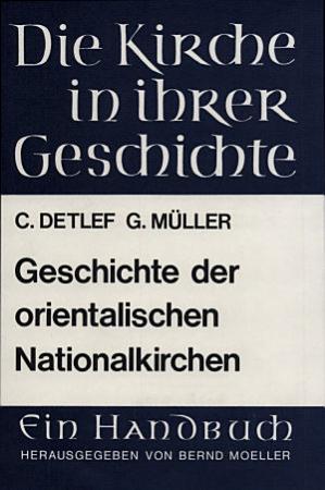 Geschichte der orientalischen Nationalkirchen PDF