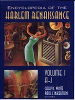 Encyclopedia of the Harlem Renaissance  A J PDF