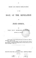 A short and simple explanation of the book of the Revelation of Jesus Christ PDF