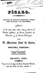 Colección de Artículos Dramáticos, Literarios, Políticos Y de Costumbres