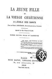 La jeune fille et la vierge chrétienne à l'école des saints
