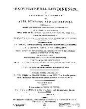 Encyclopaedia Londinensis: Volume 16