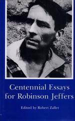 Centennial Essays for Robinson Jeffers