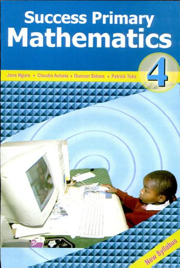 Success Primary Mathematics STD 4 PDF
