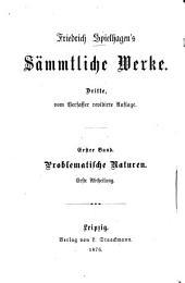 Sämmtliche Werke: Volume 1
