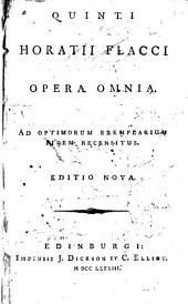 Opera omnia: ad optimorum exemplarium fidem recensitus