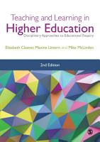 Teaching and Learning in Higher Education PDF