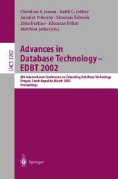 Advances in Database Technology - EDBT 2002: 8th International Conference on Extending Database Technology, Prague, Czech Republic, March 25-27, Proceedings