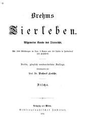 bd. Die fische, von dr. A. E. Brehm; unter mitwirkung von dr. W. Haacke. 1896