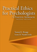 Practical Ethics For Psychologists Book PDF