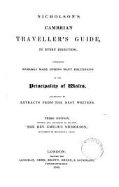 The Cambrian traveller's guide, and pocket companion [by G. Nicholson].
