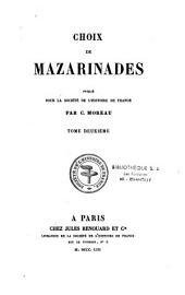 Choix de mazarinades