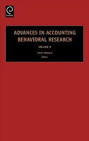 Advances in Accounting Behavioral Research PDF
