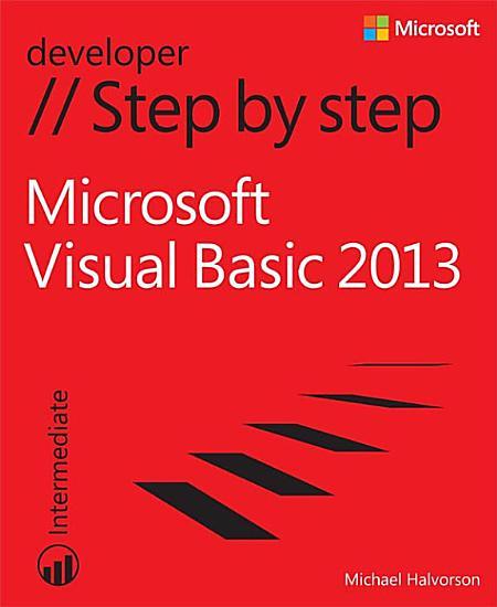 Microsoft Visual Basic 2013 Step by Step PDF