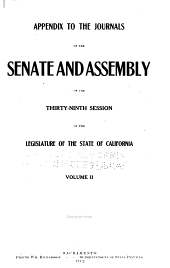 Journals of the Legislature of the State of California: Volume 2