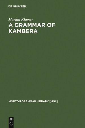 A Grammar of Kambera
