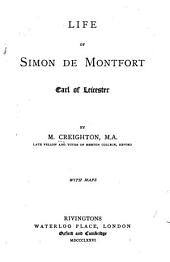 Life of Simon de Montfort, Earl of Leicester