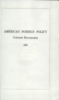 American Foreign Policy  Current Documents PDF