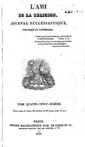 L'Ami de la religion: Volume86